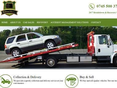 Website of Halstead Motorz