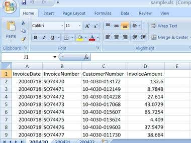 Excel work 3