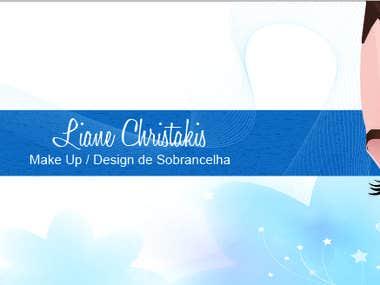 Liane Christakis - Make up (Facebook banner)