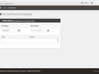 Web Application (School ERP)