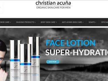 Christianacuna - Organic Skin Care for Men