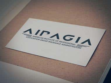 AIPAGIA   Logo design