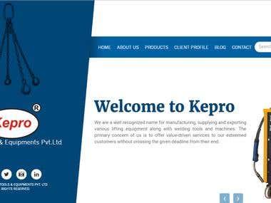 Kepro Tools & Equipments Pvt Ltd