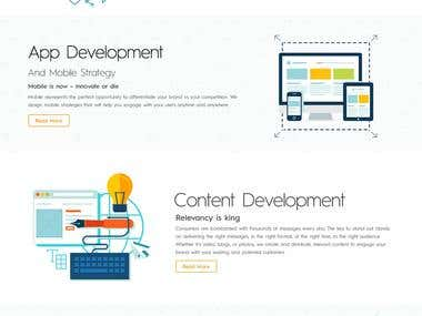 Responsive and Creative Website Design