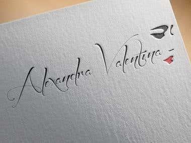 Alexandra Valentina   Logo