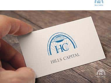 Hills Capital: Logo, Corporate Identity