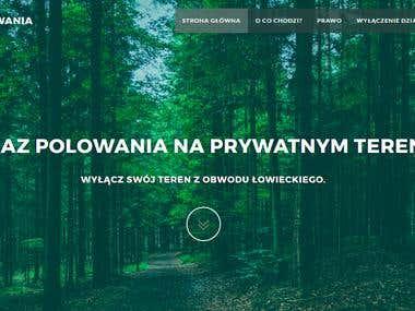 zakazpolowania.pl - website