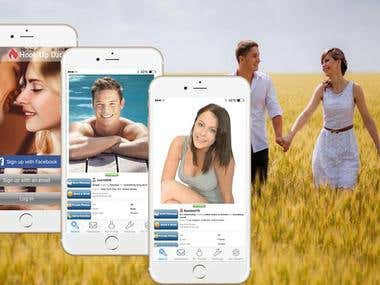 Hookup, Meeting and Dating App, iOS and Android