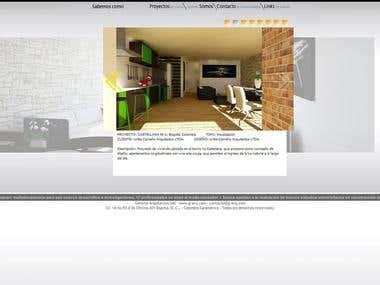 Sitio Web Genoma Arquitectos SAS