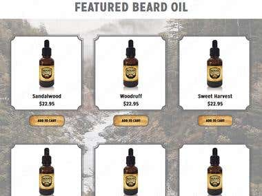 Mans Beard Oil - You Love Your Beard & We Care