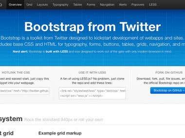 Twitter Bootstap