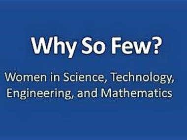 Why There Are Few Women Scientists & Engineers