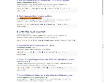 Google Top Ranking - Miamidadetechnicalcolleges.com
