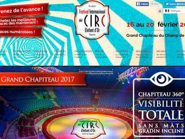 Sitio Web del Festival del Circ de Figueres