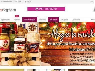 Tienda Online Flores Bogotá.