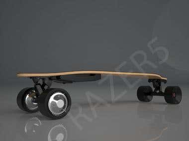 My skateboard design