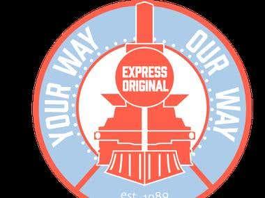 Dan P. Express Logo