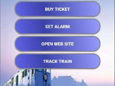 Railway Information and Schedule Management System (Offline)