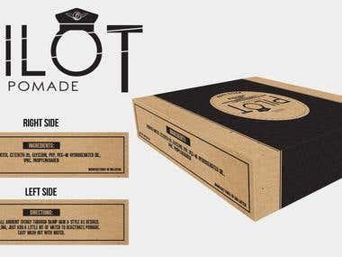Pomade Packaging