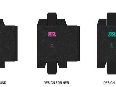 Dose Perfume Packaging