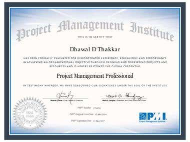 PMP Certified