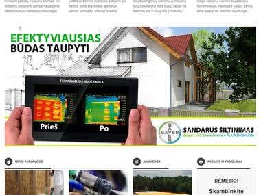 Izoltas website