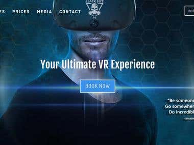 Website Development | Virtual Reality Games