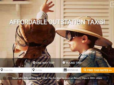 Website Development | Taxi Booking Portal