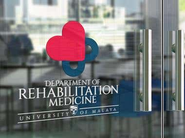UM Rehab Department Logo