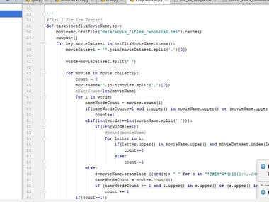 Python Bigdata pyspark
