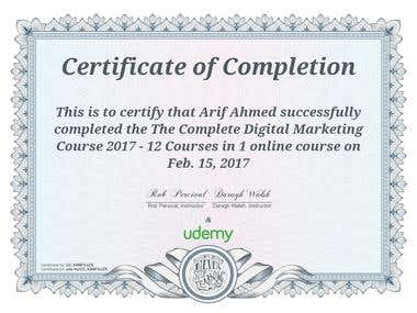 The Complete Digital Marketing Course 2017