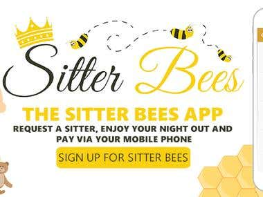 Facebook Cover for baby sitter app