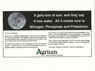 ADVERT: Agrium - It gets plenty of sun...