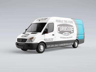 Curbside Tire Club Van