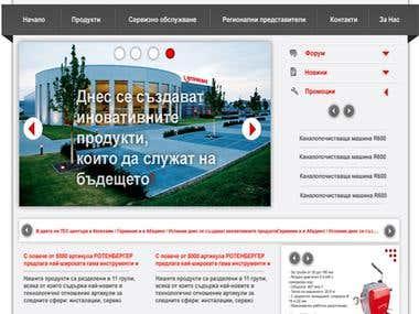 Web design for Rothenberger