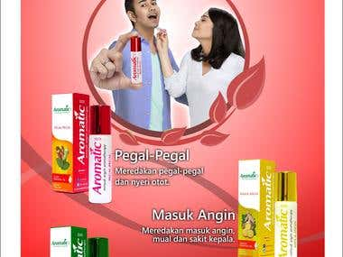 Poster Size A3 Aromatic1001