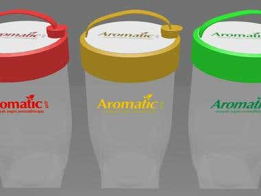 3D Tumbler Aromatic 2