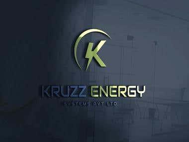 Logo design for Kruzz Energy