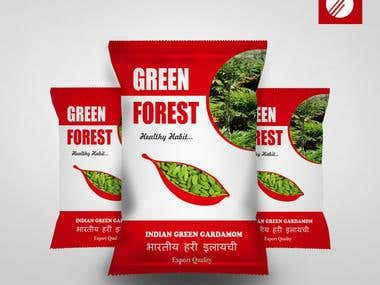 Package Design for Green Forest