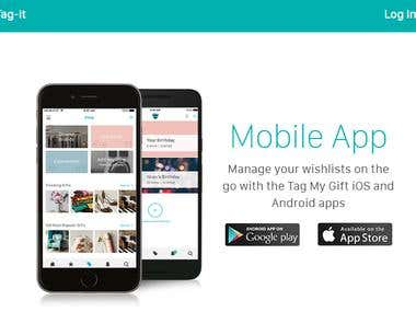 TAG-IT || Android App