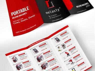 Brochure Design for Melasty.