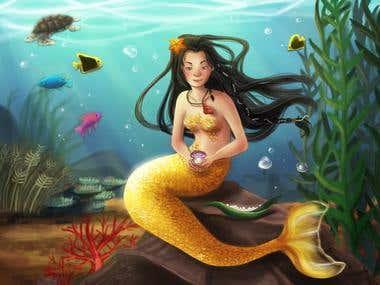 Fantasy styled children's books