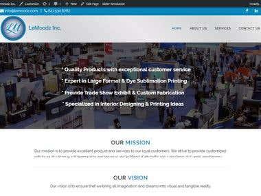 Lemoodz Inc. WordPress Development