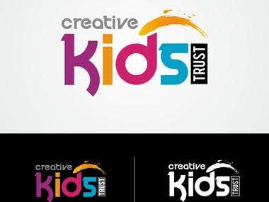 Logo design for kid's art house