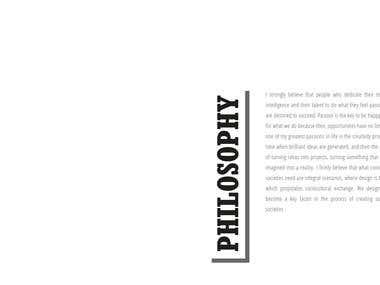 COVER PAGE PORTFOLIO