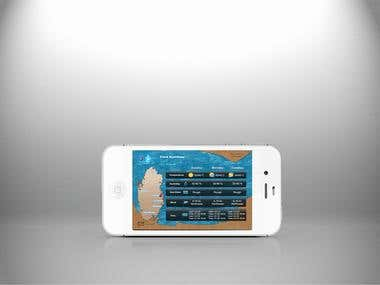 Qatar Weather App Design
