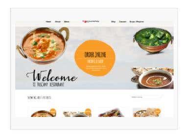 Website using any opensource ecommerce platform opencart