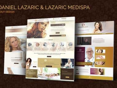 Lazaric Medispa, Dr. Daniel Lazaric Web Design