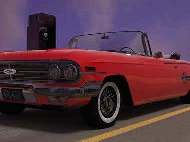 Chevrolet Impala 1960 - Desert Scene