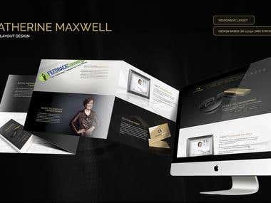 Catherine Maxwell Web Design